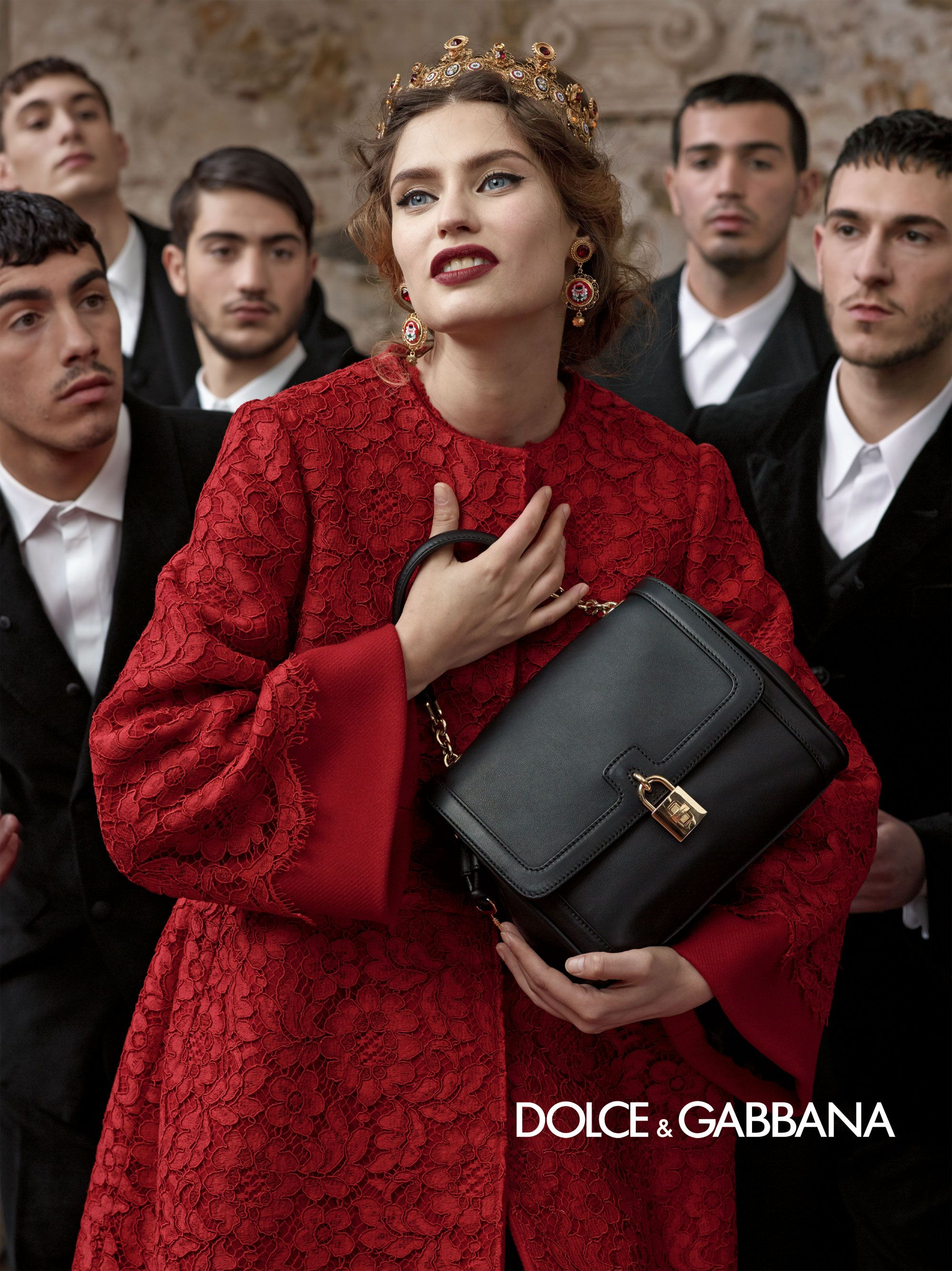 89f324439dd4 Dolce   Gabbana – Womenswear Advertising Campaign - Fall Winter 2014 ...