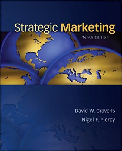 strategic marketing david w cravens pdf free download