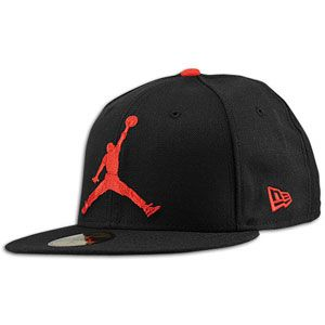 506884d80c9 Jordan New Era 59Fifty Jumbo Jumpman Fitted Cap - Men's - Cool Grey/White