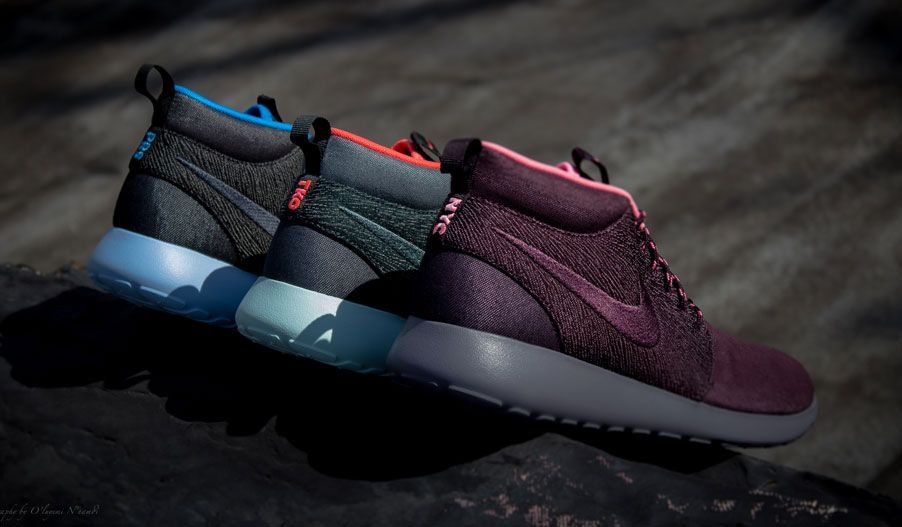 "NIKE ROSHE RUN MID ""CITY PACK"