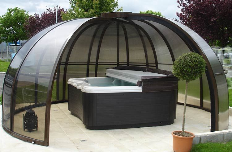 vasca idromassaggio da esterno cerca con google jacuzzi e piscine pinterest google. Black Bedroom Furniture Sets. Home Design Ideas