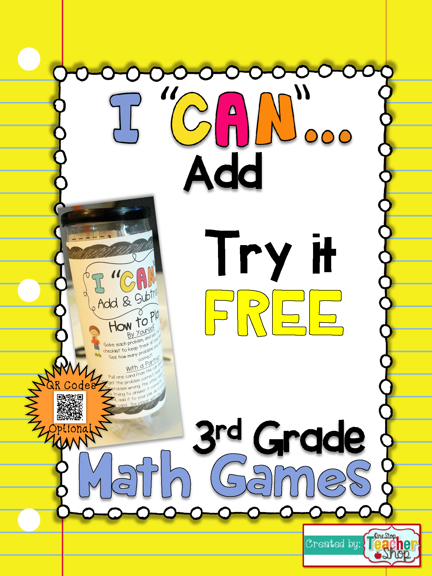 3rd Grade Addition within 1,000 Game FREE I CAN Math
