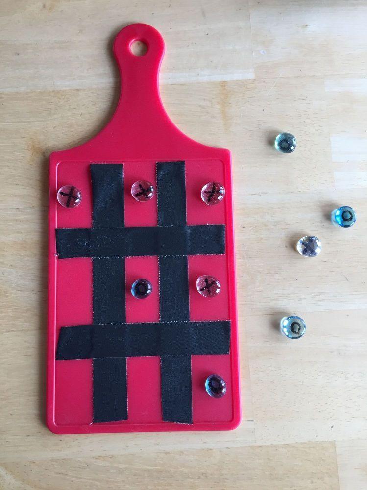 Easy Tic Tac Toe Game Great For Travel Gift Idea Backyard Etc - Backyard gift ideas