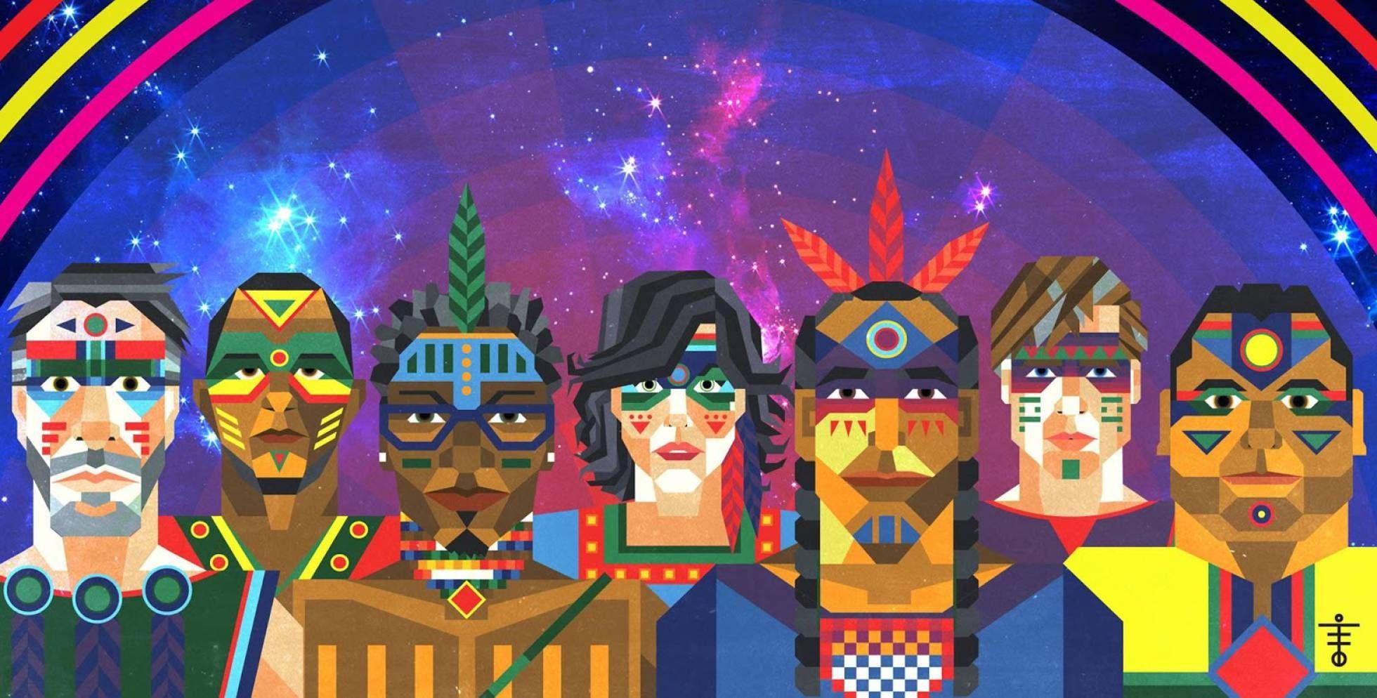 Foto promocional da banda Systema Solar, coletivo músico-visual da região do…
