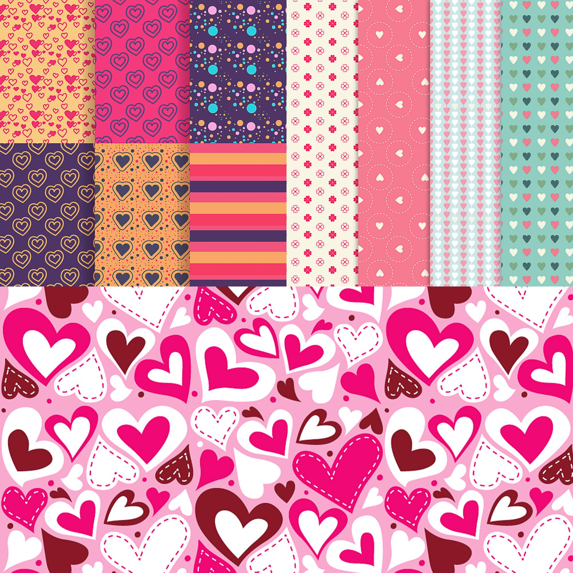 Set of 11 patterns templates for valentine and greeting cards and set of 11 patterns templates for valentine and greeting cards and your valentines day designs kristyandbryce Gallery