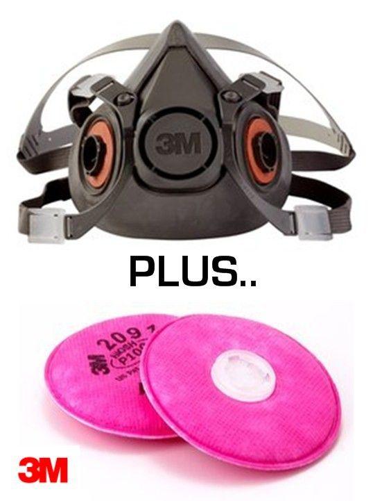 3m p100 mask small