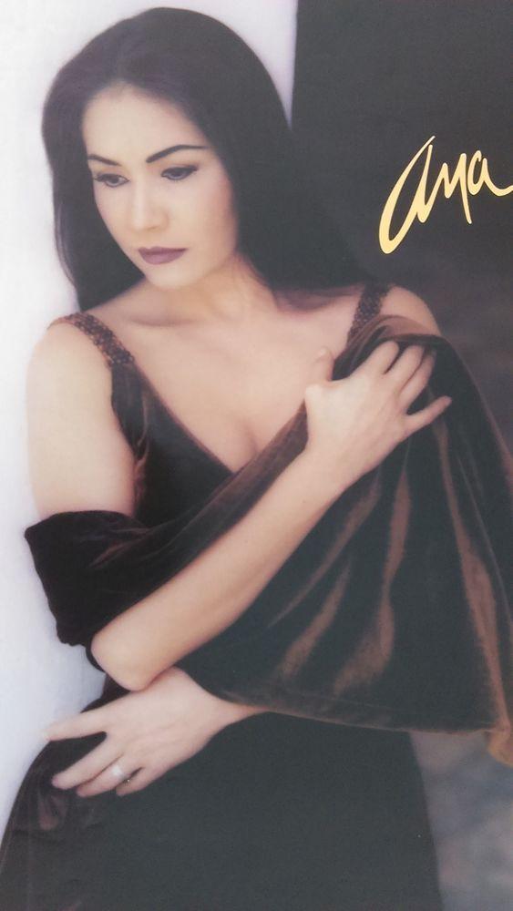Ana Gabriel Con Un Mismo Corazon Promo Poster Vg Female Singers Women Female