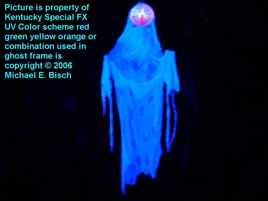 halloween hanging blacklight ghost prop special plasma decoration version from wwwkentuckyspecialfxcom in