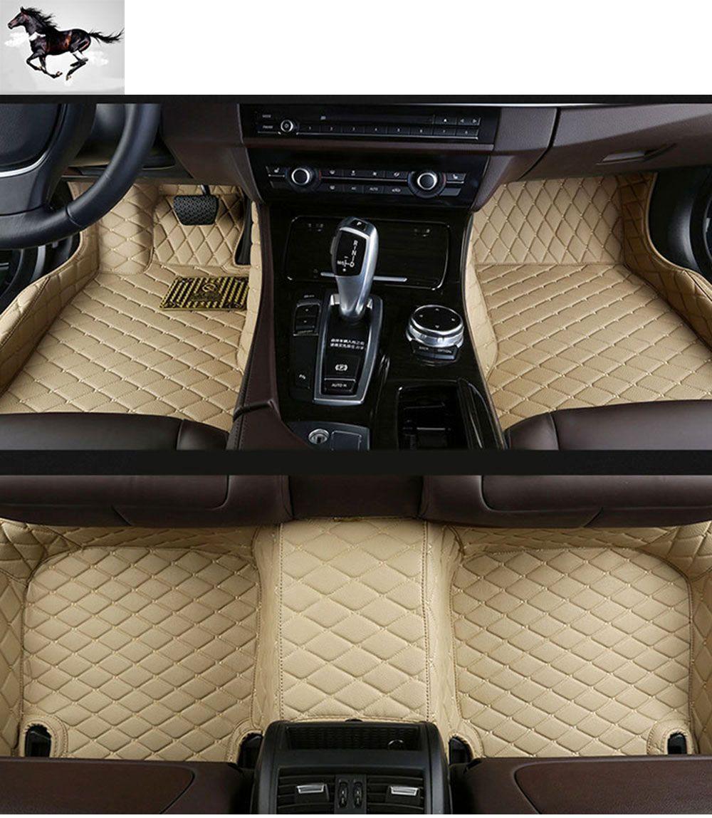 car floor mats. Topmats Set Car Floor Mats For Audi Q7 2016-2017 Waterproof Leather 3d