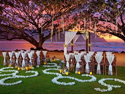 Regis Princeville Resort And Other Beach Wedding Venues Read Detailed Info On Hawaii Reception Locations