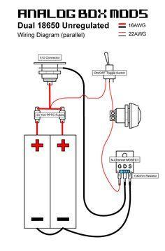 e cig box mod unregulated wiring diagram schematics wiring diagrams u2022 rh seniorlivinguniversity co E-Cig Schematic DIY E-Cig Mod