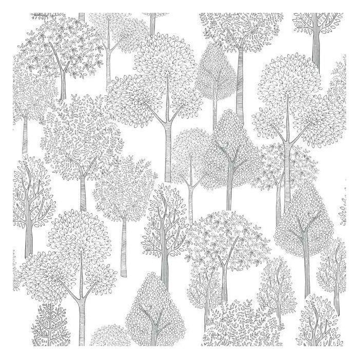 Treetops Premium Peel And Stick Wallpaper In 2021 Dwell Studio Baby York Wallpaper Kids Wallpaper