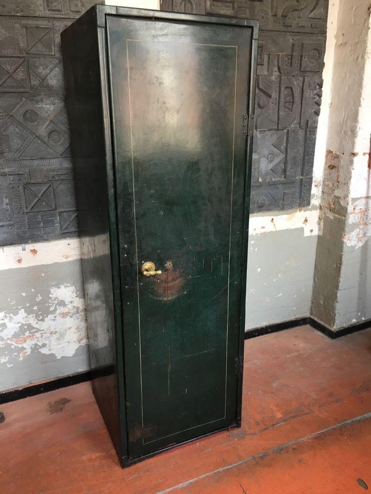 vintage industrial safe cabinet. | ebay | safes | pinterest