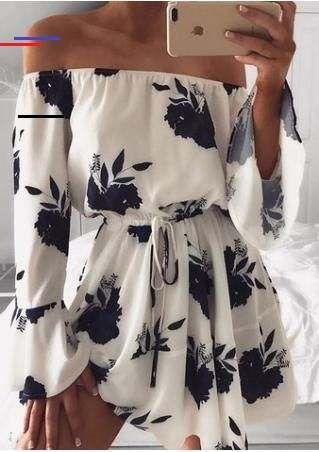 #flowerdresses in 2020   Frauen outfits, Modestil, Boho kleid