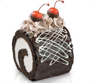 BaskinRobbins Fudge Mini Roll Cake BaskinRobbins flavors