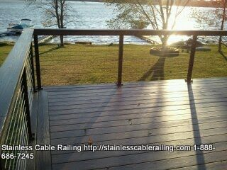 Best Azek Composite Decking With Cable Railing System Andover 400 x 300