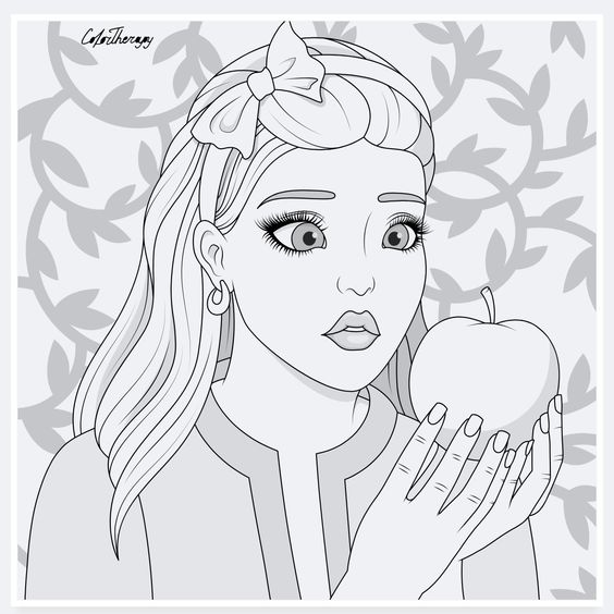 Modern Disney Princess Coloring Pages Colortherapy Disney Princess Coloring Pages Princess Coloring Pages Disney Princess Colors