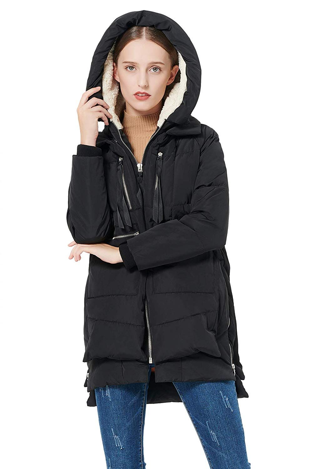 9031de00257b Amazon.com  Orolay Women s Thickened Down Jacket (Most Wished  Gift Ideas)   Clothing