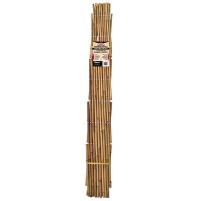 Quest Bamboo Fence 6 Feet Home Depot Canada Bamboo Fence Modern Fence Front Yard Fence
