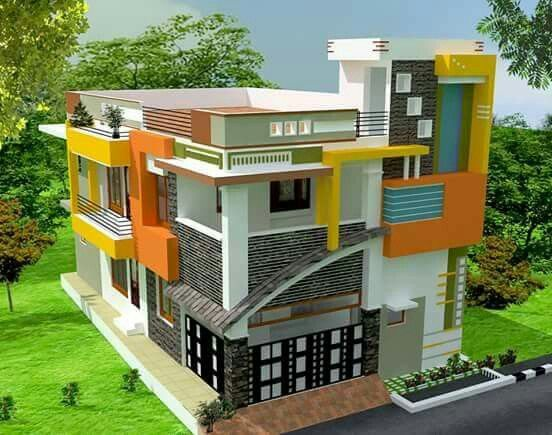 Elevation building house front designs smallest modern houses also latest design philippines in rh pinterest