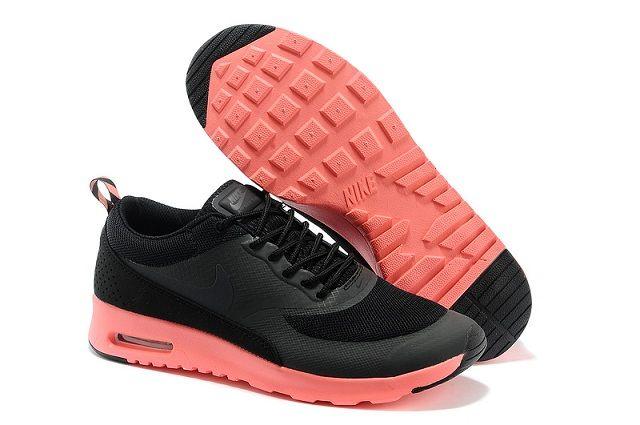 moins cher accb4 a68e5 Homme Nike Air Max Thea Print Noir Carbone Gris Corail Pas ...