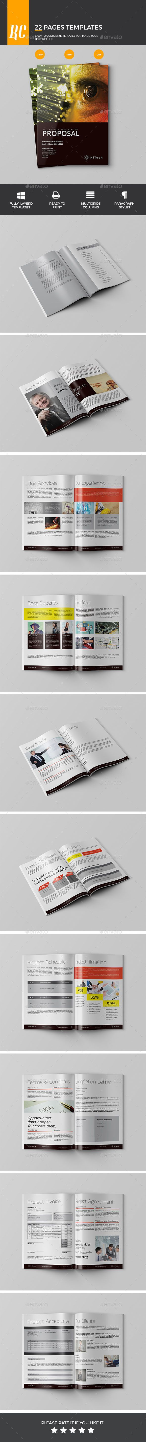Proposal Template design Download httpgraphicrivernetitem Proposal