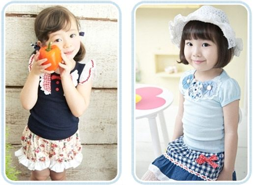 Korean and Japanese Baby and Kids Clothing | For my little girls ...