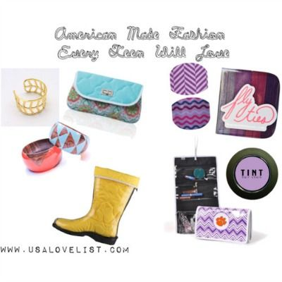 American Made Fashion: Best Gifts For Teen Girls {2013 Holiday Gift Guides} #MadeintheUSA