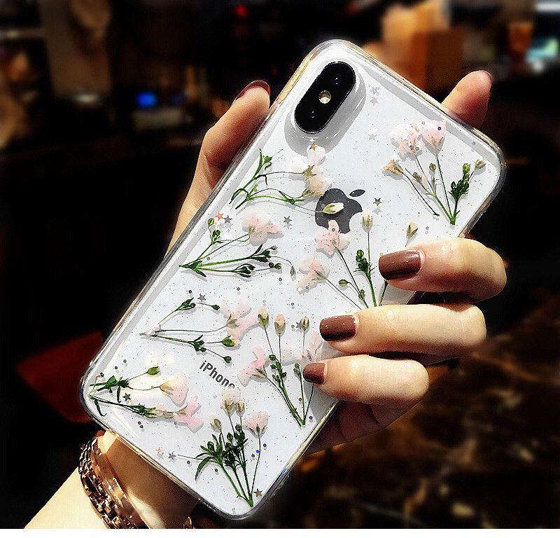 Rockacase Floral Print Mobile Case Iphone Xs X 8 8 Plus 7 7 Plus 6s 6s Plus Yesstyle Flower Iphone Cases Iphone Accessories Flower Phone Case