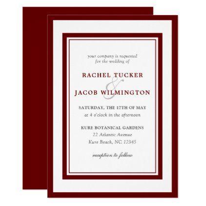 5 X 7 Vertical Folio Wedding Invitations 2 Layers Large Border All Wedding Wedding Invitations Unique Wedding Invitations Pocket Wedding Invitations