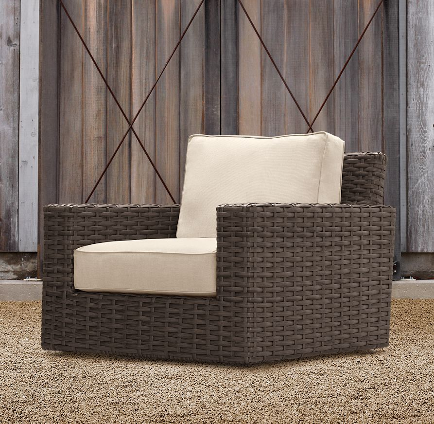 Antigua Swivel Lounge Chair Restoration Hardware & Antigua Swivel Lounge Chair Restoration Hardware | Townhouse seating ...