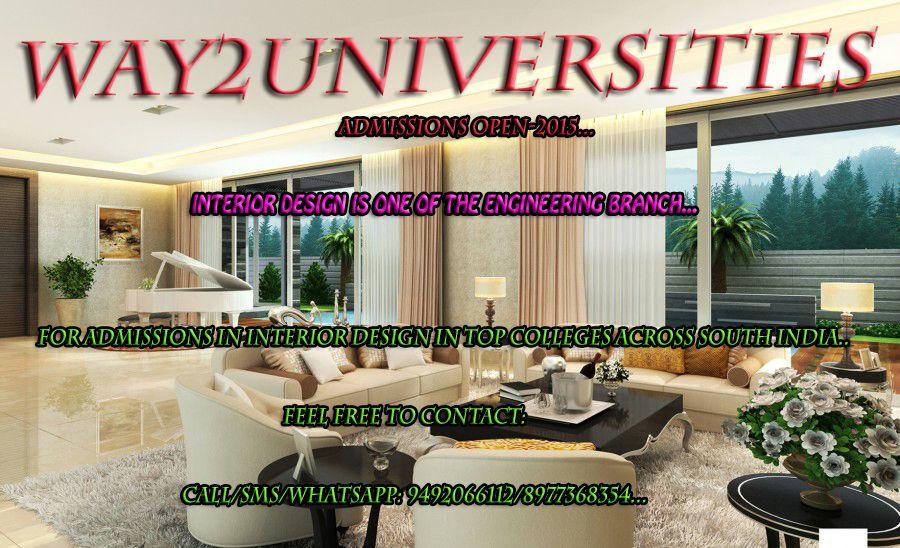 Admissions In Top Universities Interior Design Colleges