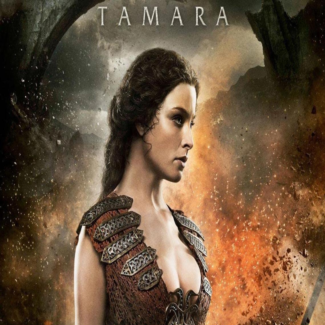 Rachel Nichols as Tamara (Conan the Barbarian movie