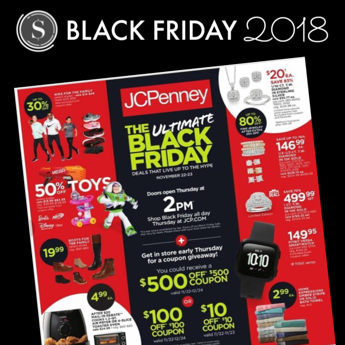 Jcpenney Black Friday Ad 2018 Preview The Best Black Friday Deals See The Ad Scans Jcpenney Black Friday Black Friday Ads Best Black Friday