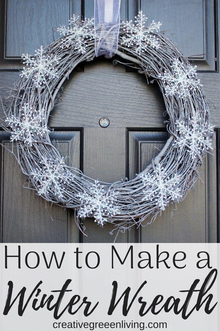 Photo of How to Make a DIY Non-Christmas Winter Wreath