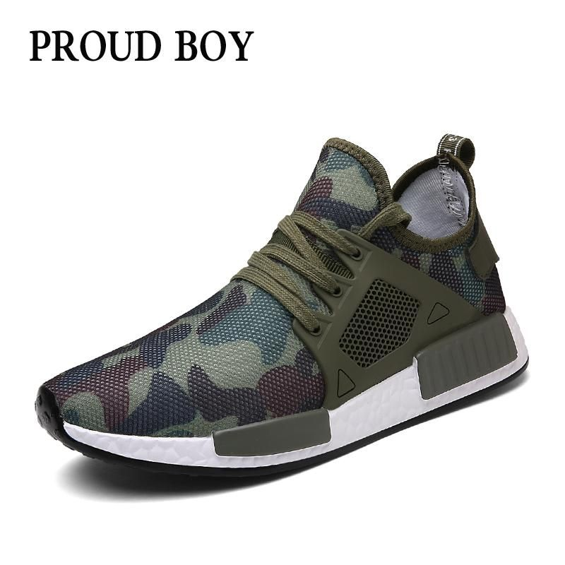 Breathable Sneakers men's Olive green Running Shoes for men Lightweight  jogging shoes - US $22.56