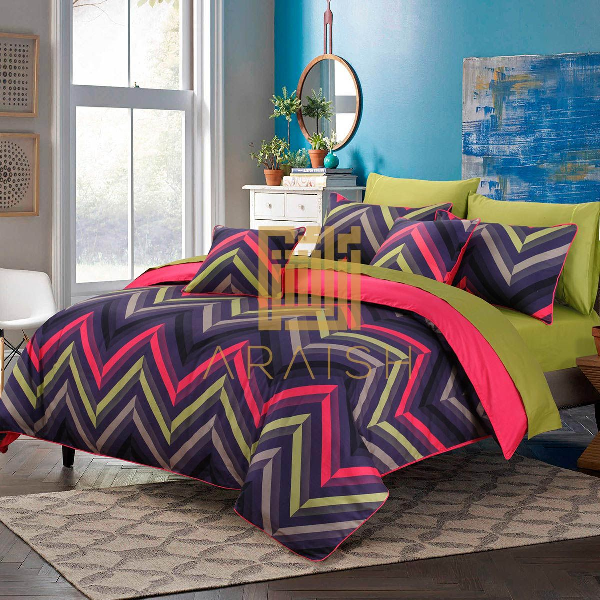 56625572f6 Luxury Bedding Collections, Luxury Bedding Sets, Printed Cushions, Neon  Colors, Bed Sheets