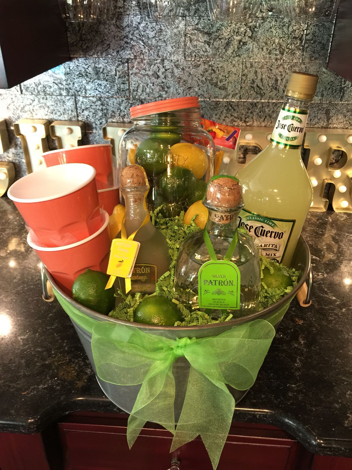 margarita basket | cool stuff | gift baskets, gifts, raffle baskets