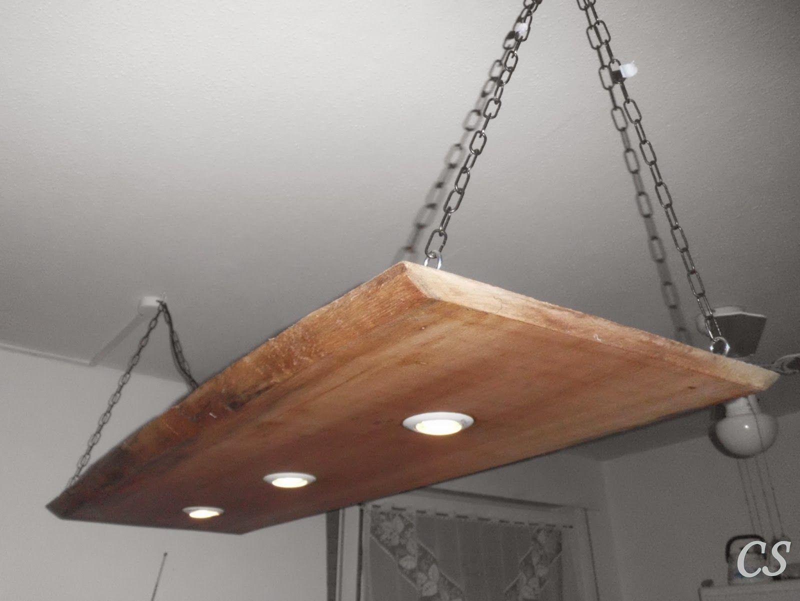 Badezimmerlampe Decke ~ Details zu led decken holz lampe rustikal 120cm 5x 7w massivholz