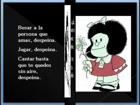 Frases de Mafalda despeinada - Imagui