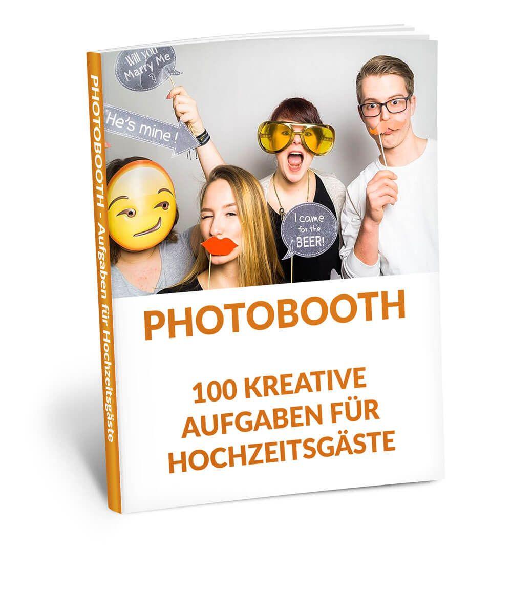 Photobooth Aufgaben Hochzeit Digitale Vorlage Digital