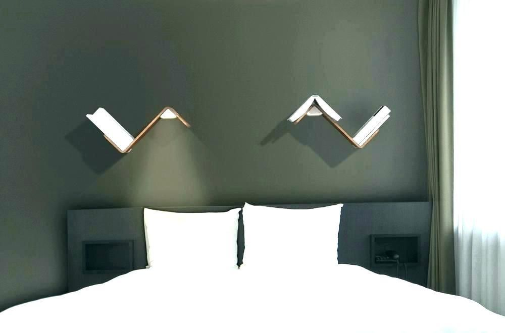 Headboard Lighting Headboard With Lights Wall Mounted Reading
