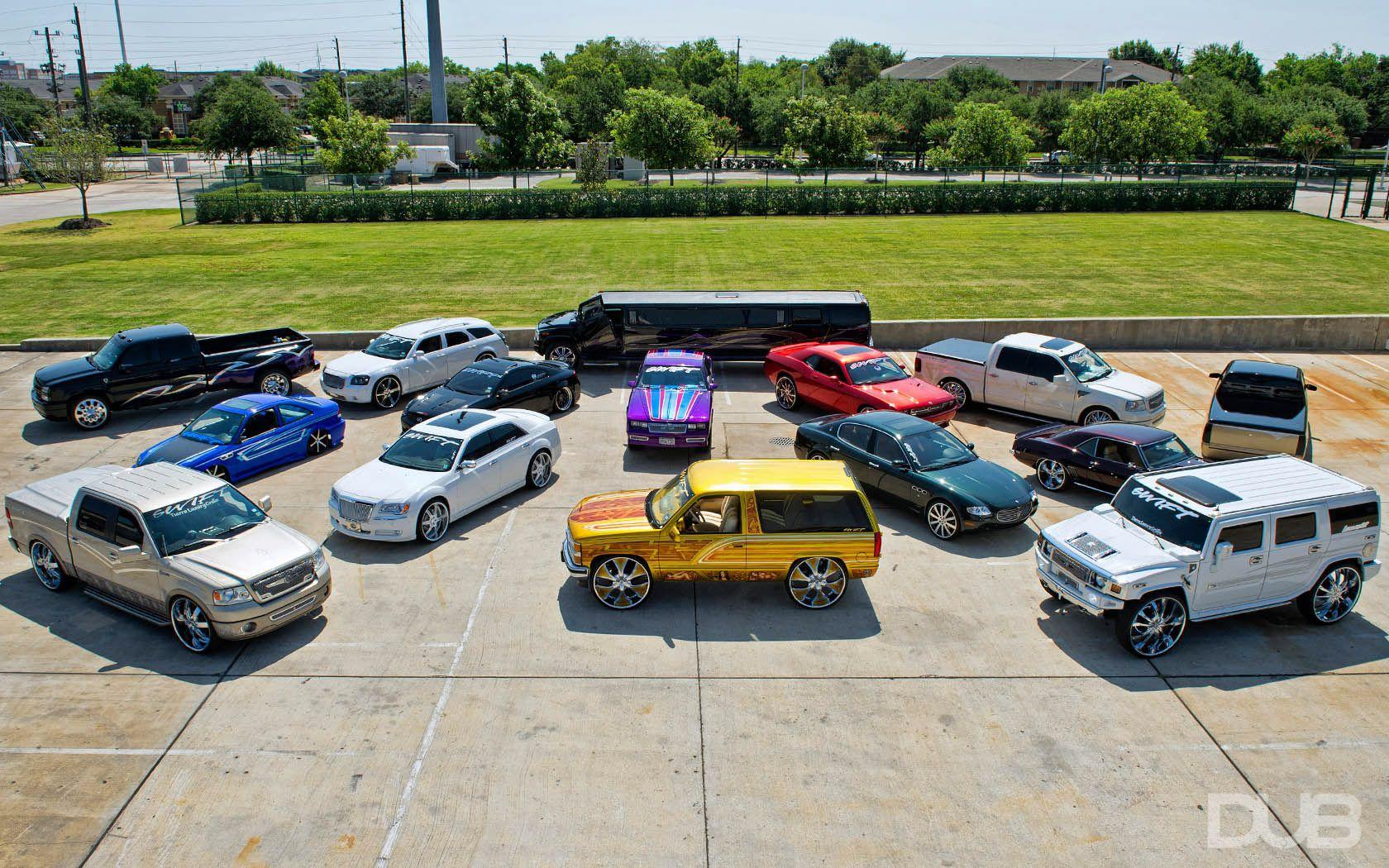 DUB Magazine - Swift Car Club: Texas | Swift car club World Wide ...