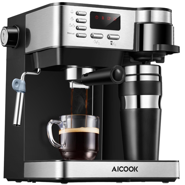 Aicook espresso and coffee machine 3 in 1