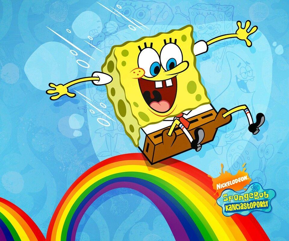 Spongebob Rainbow Spongebob wallpaper, Spongebob