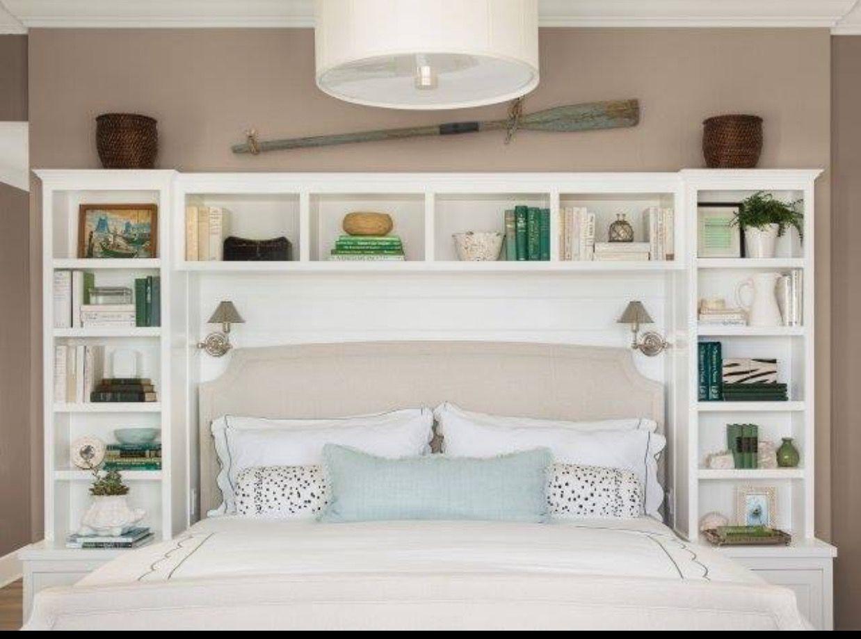 Built ins around Murphy bed Remodel bedroom, Headboard
