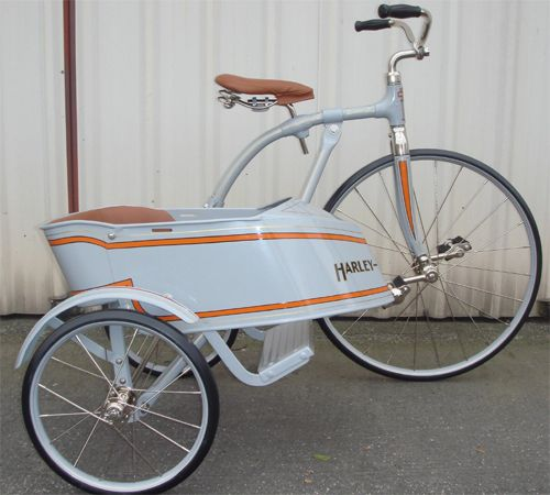 size tricycle antique Adult