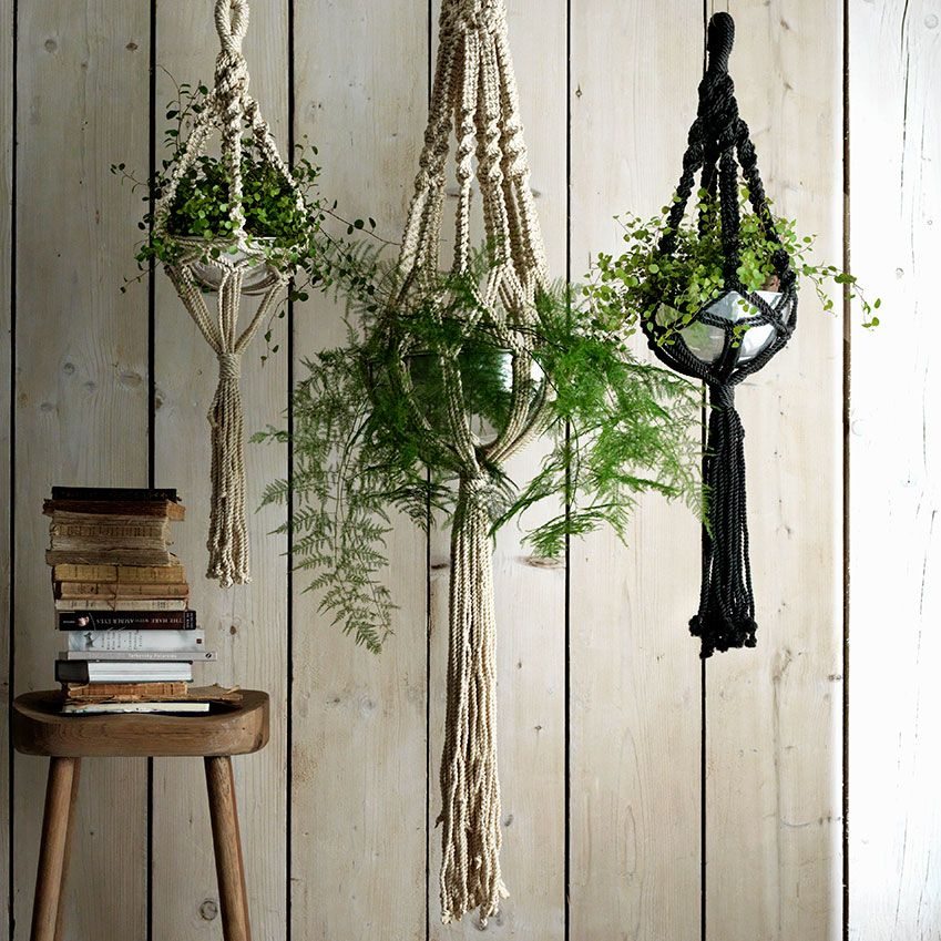 Exceptional These Hanging Indoor Planters Are Just The Ticket For Would Be Urban  Gardeners.
