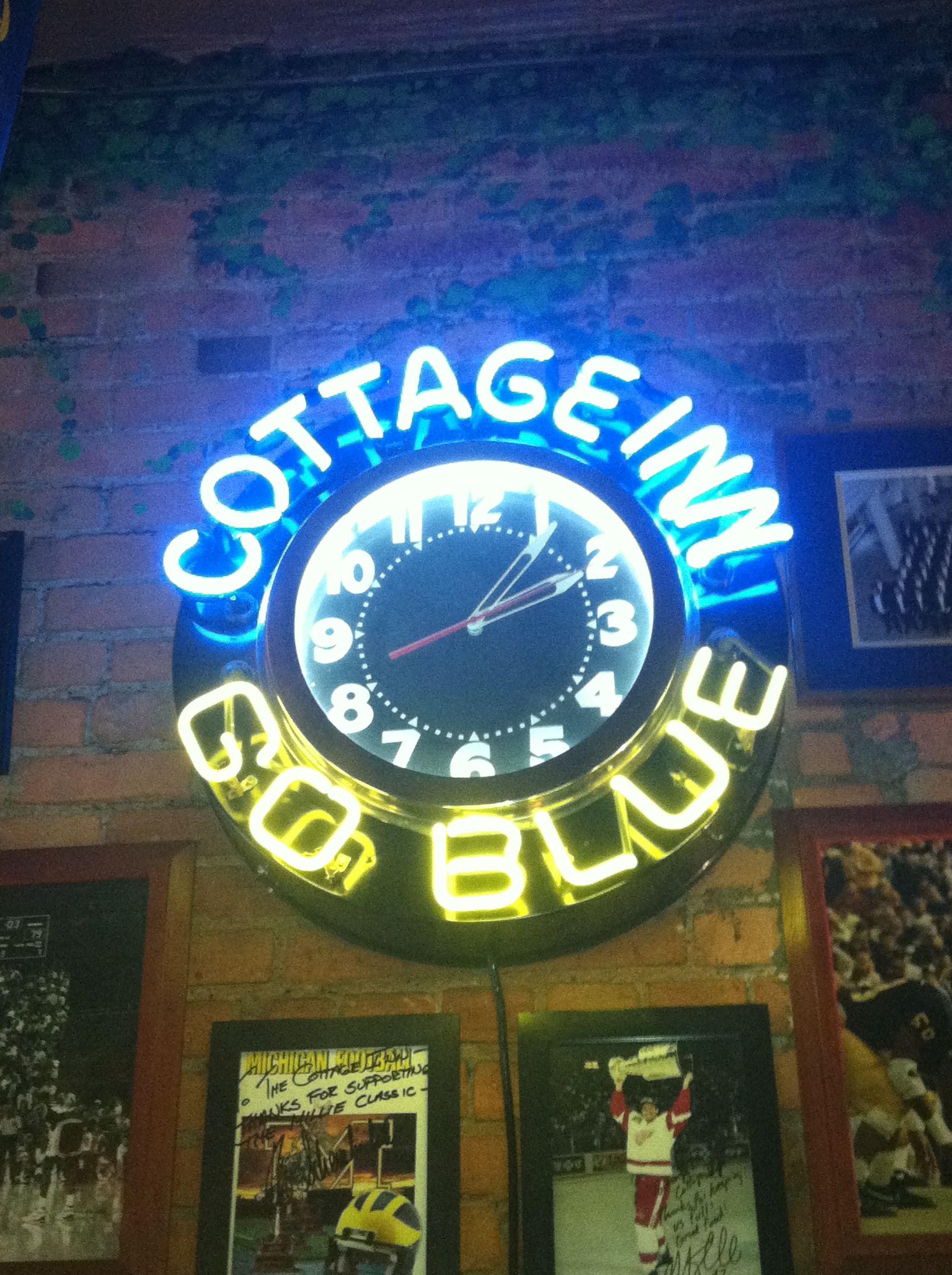 The Original Cottage Inn Can Be Found Downtown Michigan Go Blue Pure Michigan Eastern Michigan