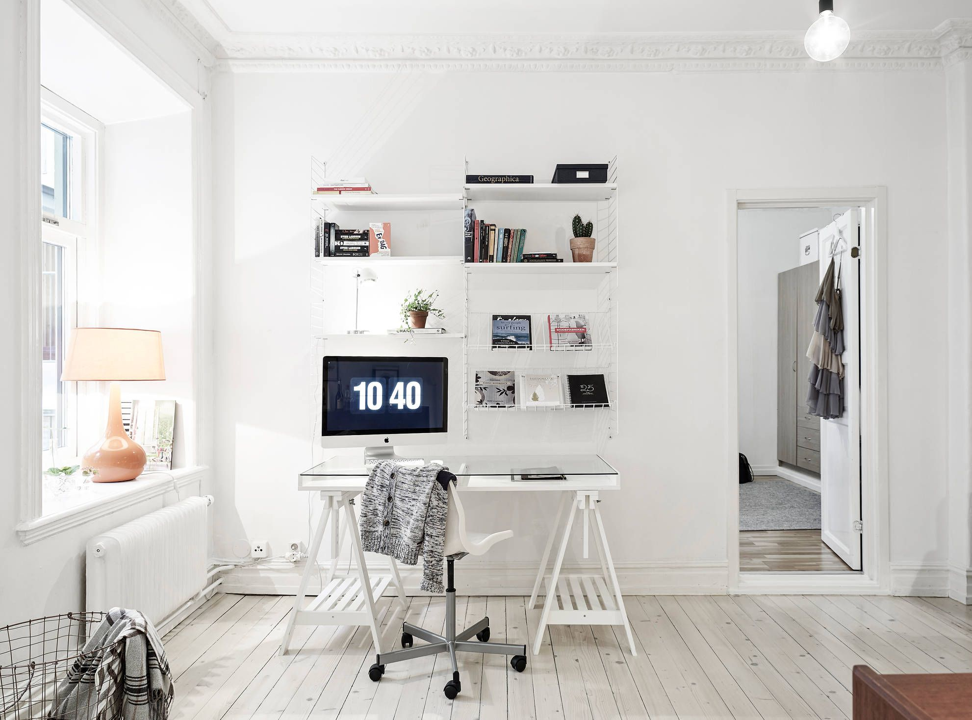 scandinavian home office. Stadshem - Arbetsplats. Office WorkspaceOffice SpacesScandinavian Scandinavian Home T